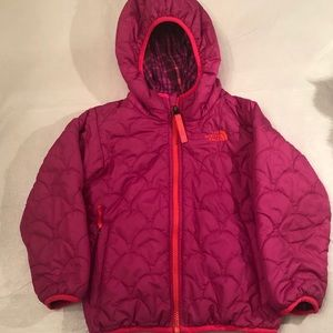 NORTHFACE TODDLER REVERSIBLE JACKET